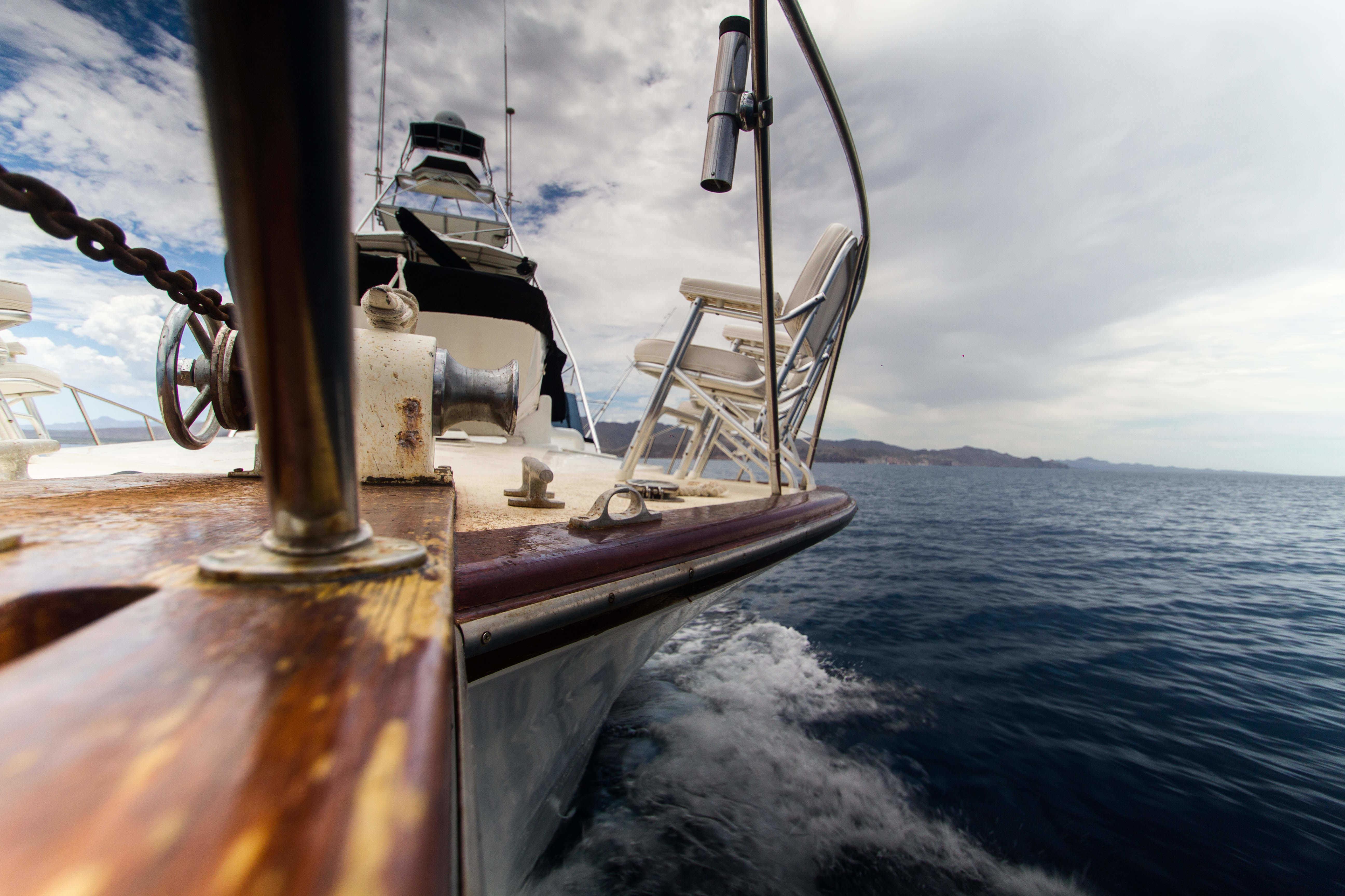 bateau mer peche