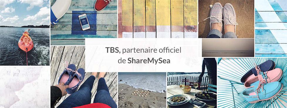 TBS, Partenaire officiel de ShareMySea