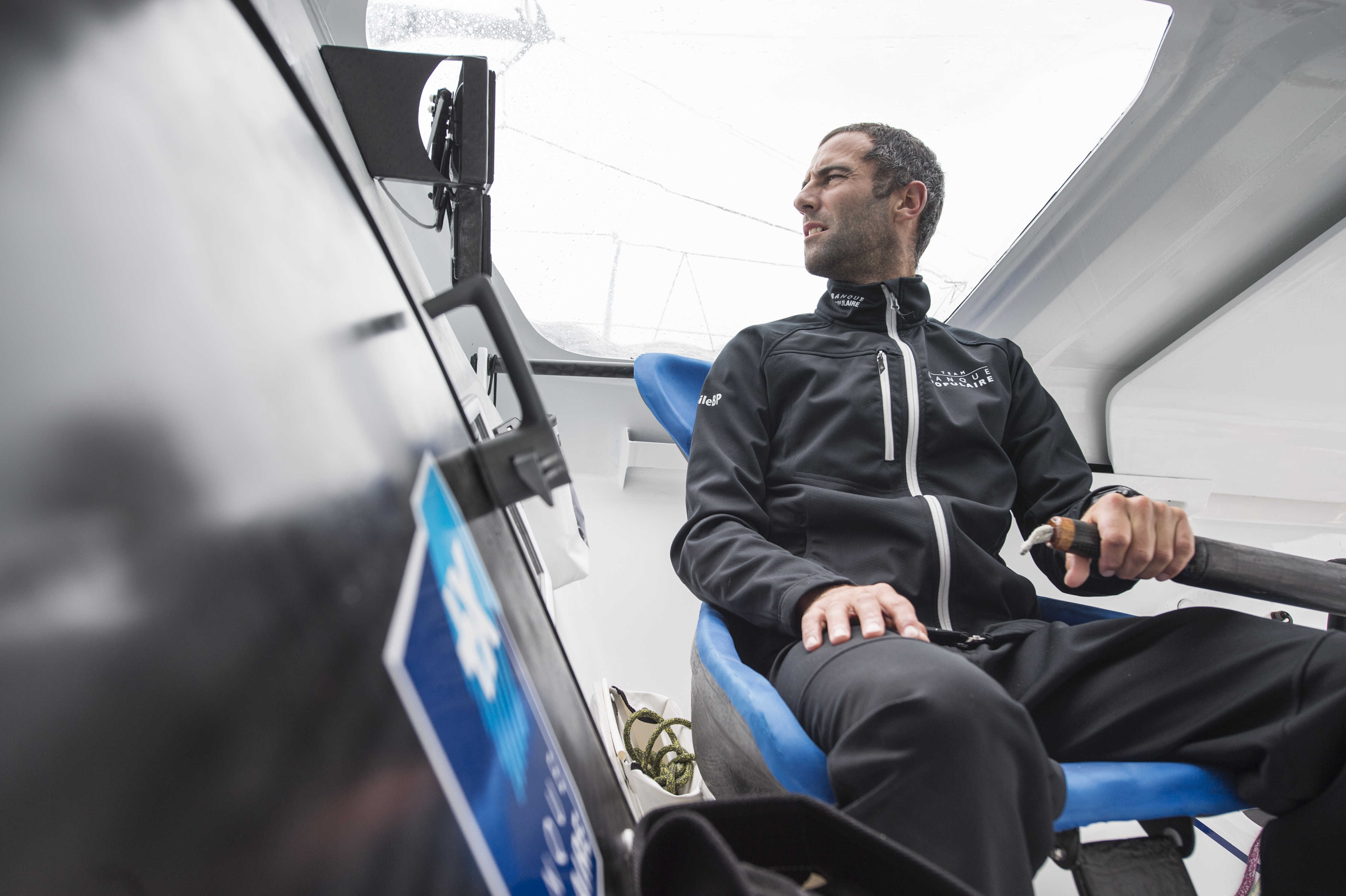 Plymouth > Lorient 19>20/08/2015Armel Le-Cleac-h, Erwan Tabarly Photo / Vincent Curutchet / Banque Populaire