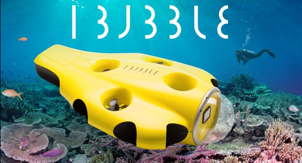 ibubble drone