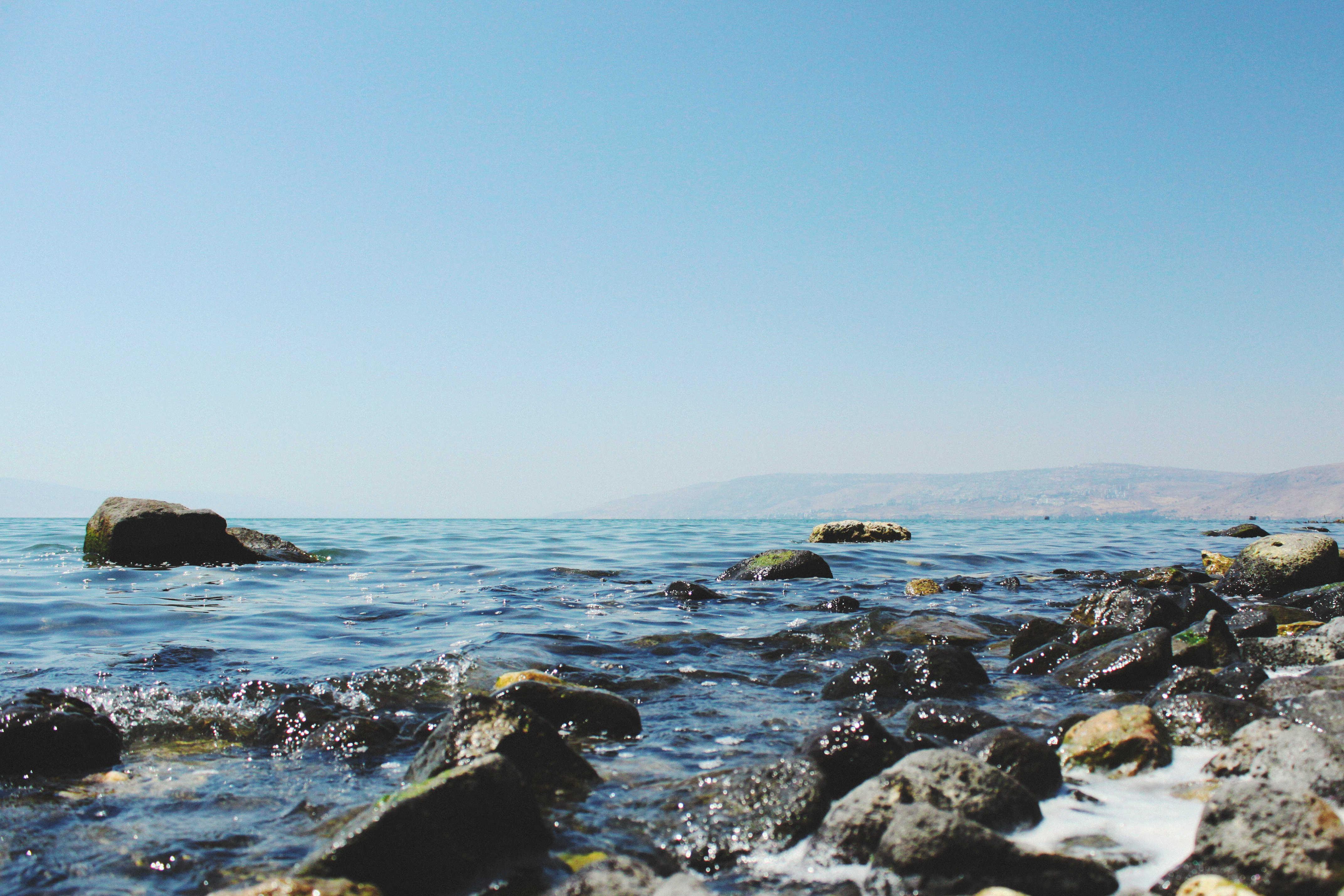 mer rocher bord mer